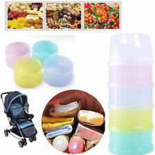 Portable Baby Food Storage Milk Powder Container 4 Layer Milk Food Boxes Fashion