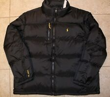 NWT POLO RALPH LAUREN Men's Quilted Puffer Down Jacket XXL BLACK