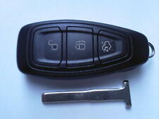 GENUINE FORD MONDEO FOCUS ETC (NEW-PUSH START&RF TYPE) 3BTN REMOTE UNCUT KEY FOB