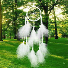 Dream Catcher Handmade With Feather Wall Car Hanging Decoration Ornament Gift