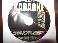 Karaoke Hits Vol  13 ( Country and Pop Mix )