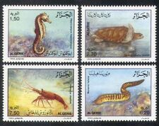 Algeria 1992 Turtle/Seahorse/Eel/Lobster/Marine/Nature/Environment 4v set n39269
