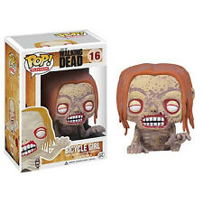 FUNKO POP TELEVISION SERIES 1 The WALKING DEAD BICYCLE GIRL #16 Figure IN STOCK