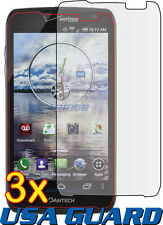 3x Pantech Perception R930L Clear LCD Screen Protector Guard Shield Cover Film