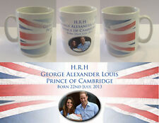 HRH PRINCE GEORGE ALEXANDER LOUIS - ROYAL BABY MUG CUP - WILLIAM KATE (No.4)