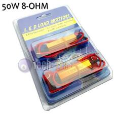 50W 8-Ohm Load Resistors For LED Bulbs Turn Signal Lights Rapid Flash Fix