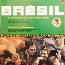 BRESIL B.O.F Orfeu Negro / Carnaval A Rio En Direct FR press Philips P 14747L LP