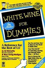 White Wine For Dummies by McCarthy, Ed; Ewing-Mulligan, Mary