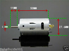DC 6V 12V 24V High Speed 26000RPM Large Torque 390 Motor For Mini Electic Drill