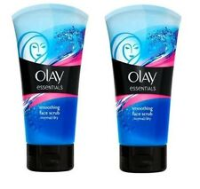 2 X Olay Essentials Smoothing Face Scrub -150ml Each One - Normal/Dry Skin