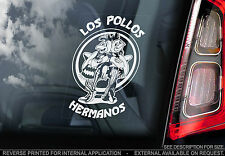 Los Pollos Hermanos - Car Window Sticker - Breaking Bad -Heisenberg Chicken Sign