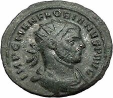 Florian 276AD RARE Ancient Roman Coin Felicitas Good luck Cult Commerce i55485