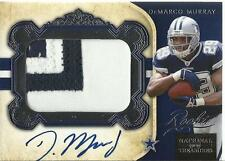 2011 Playoff National Treasures #331 DeMarco Murray Jersey Patch Auto RC 38/99