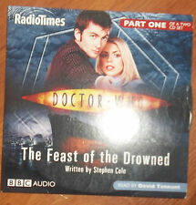 AUDIO BOOK CD - DOCTOR WHO THE FEAST OF THE DROWNED Part 1 Read by David Tennant