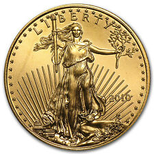 2010 1/2 oz Gold American Eagle Coin - Brilliant Uncirculated - SKU #58143