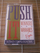 Push It Winners & Wannabe's Various artists RETRO compilation MIX cassette Tape