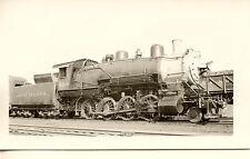7A503 RP 1937 ROCK ISLAND RAILROAD ENGINE #468 PEORIA IL