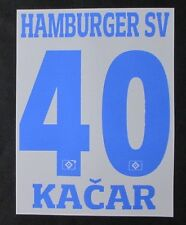 HSV Hamburger SV KACAR Player Flock 25 cm fürs adidas Home Trikot 2015-2016