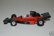 WOW Vintage Red & Black Painted CORGI Indy Race Car Shadow Ford HTF