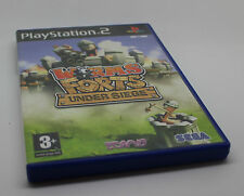 Worms forts:  Under siege   PS2 PLAY STATION PS 2