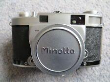 Vintage Minolta Super 'A' Rangefinder Camera
