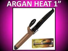 "ONE 'N ONLY ARGAN HEAT 1"" CERAMIC 400° SPRING CURLING IRON + FREE OIL ONOMH100S"