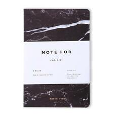 """""""NOTE FOR Silence"""" Diary Blank Paper Planner Notebook Journal Memo Free Note Q"""