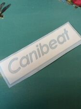 WHITE CANIBEAT vinyl Decal Sticker. Dapper, Stance, Euro, Drift, Car, Vw, Jdm