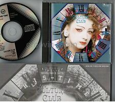 CULTURE CLUB This Time JAPAN CD w/PS 32VD-1082 2A2 TO 1987 issue BLACK TRIANGLE