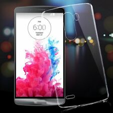 Transparent Clear Ultra Thin Gloosy Hard Back Case Cover Shell For LG G4 G3 Skin