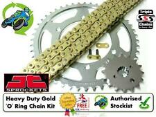 NEW HEAVY DUTY O RING GOLD CHAIN & SPROCKET KIT KAWASAKI ZX6R ZX-6R ZX6-R 07 08