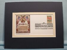 Lincoln's Emancipation Proclamation & First Day Cover of 150th Anniversary stamp