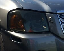 02-09 GMC ENVOY SMOKE HEAD LIGHT PRECUT TINT COVER SMOKED OVERLAYS