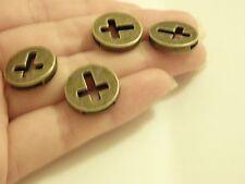 10 croix perles charms pendentifs bronze antique bijoux making wholesale uk -01