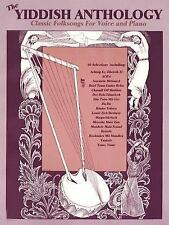Yiddish Anthology: Classic Folksongs for Voice and Piano