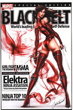 Jamie Tyndall Zenescope Comic Artist SIGNED Marvel Art Print Elektra Assassin