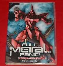 Full Metal Panic - Mission 6 (DVD, 2004) GONZO Digimation DVD NEW No Shrink Wrap