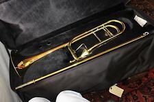 Jupiter XO Model 1236RL-T Professional .547 Bore Trombone THAYER VALVE DEMO MODE