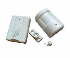 DIY Wireless Driveway Patrol Motion Sensor Receiver Home Security Alarm System