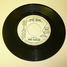 RAUNCHY ROCKABILLY 45RPM RECORD - BOB TAYLOR - STACY 953 - PROMO