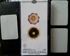 Sizzix Sizzlits ACCORDION FOLD FLOWERS SET fits Cuttlebug Die Cutter 657093