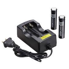 SJ 3.7V 6000mAh18650 Li-Ionen-Akku für Taschenlampe und Vie + Battery +Ladegerät