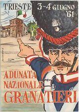 ADUNATA NAZIONALE GRANATIERI - TRIESTE 1961 - S VANINI