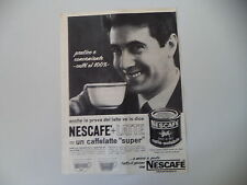 advertising Pubblicità 1964 NESCAFE' CAFFE' SOLUBILE