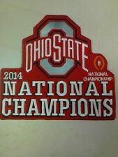 "NEW 6 1/2"" X 6"" INCH OHIO STATE 2014 NATIONAL CHAMPIONS IRON ON PATCH"