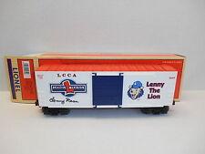 Lionel #29232 LCCA Lenny the Lion Hi-Cube Box Car AUTOGRAPHED by Lenny Dean