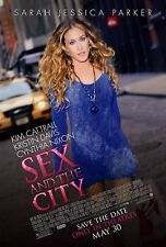 SEX AND THE CITY (2008) ORIGINAL MOVIE POSTER  -  ROLLED  -  DOUBLE-SIDED