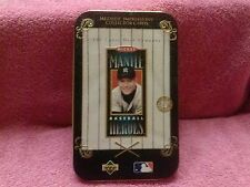 1993 UPPER DECK MICKEY MANTLE METALLIC IMPRESSONS COLLECTORS CARDS YANKEES