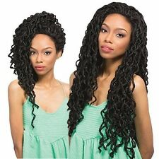 Outre Synthetic Braid Lace Front Wig X-Pression Box Braid Long Locs