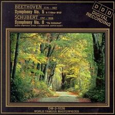 Beethoven: Symphony No. 5; Schubert: Symphony No. 8 (CD, Sep-1994, Madacy)